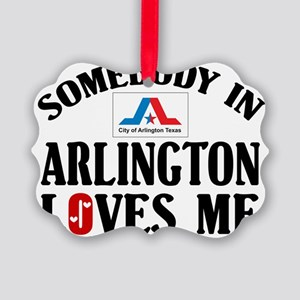 Somebody In Arlington Picture Ornament