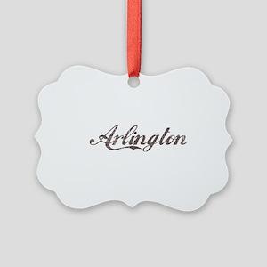 Vintage Arlington Picture Ornament