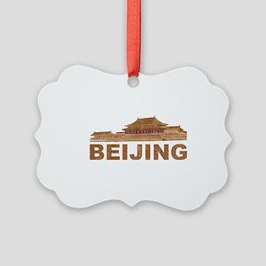 Vintage Beijing Picture Ornament