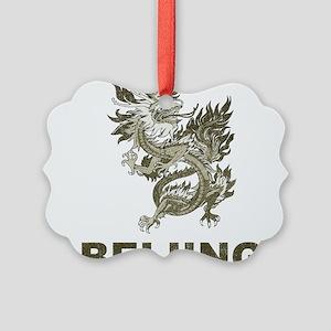 Vintage Dragon Beijing Picture Ornament