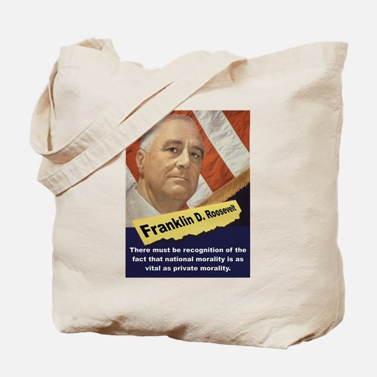 There Must Be Recognition - FDR Tote Bag