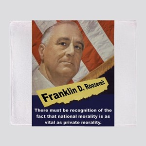 There Must Be Recognition - FDR Throw Blanket