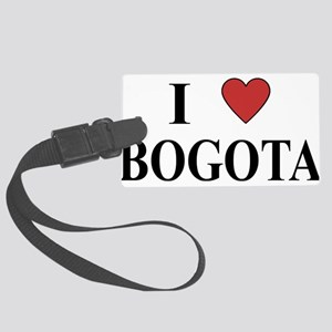 I Love Bogota Large Luggage Tag