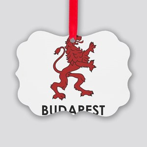 Budapest Lion Picture Ornament