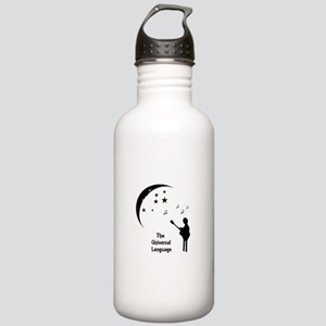The Universal Language Stainless Water Bottle 1.0L