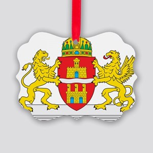 Budapest Coat Of Arms Picture Ornament