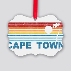 Palm Tree Cape Town Picture Ornament