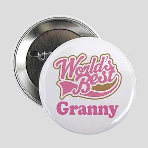 """Worlds Best Granny 2.25"""" Button"""