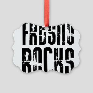 Fresno Rocks Picture Ornament