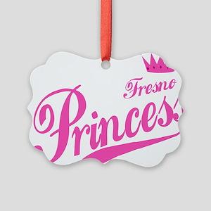 Fresno Princess Picture Ornament