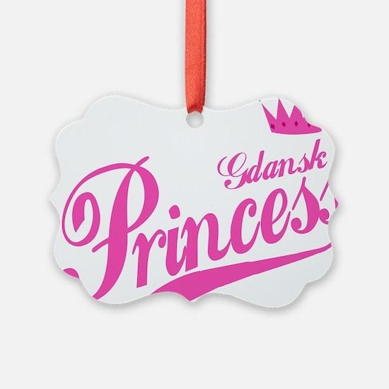 Gdansk Princess Ornament