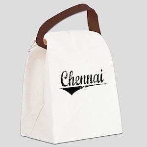 Chennai, Aged, Canvas Lunch Bag