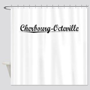 Cherbourg-Octeville, Aged, Shower Curtain