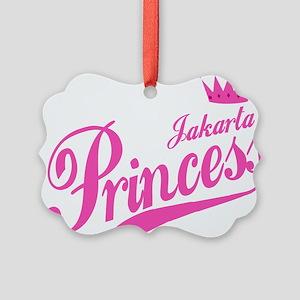 Jakarta Princess Picture Ornament