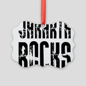 Jakarta Rocks Picture Ornament