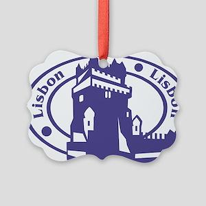 Lisbon Picture Ornament