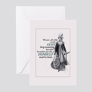 Jane Austen Mourning Greeting Cards (Pack of 10)