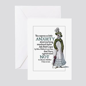 Jane Austen Anxiety Greeting Cards (Pack of 10)