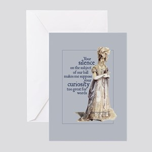 Jane Austen Silence Greeting Cards (Pack of 10)