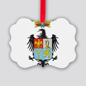 Palermo Coat Of Arms Picture Ornament