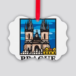 Prague Picture Ornament