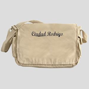 Ciudad Rodrigo, Aged, Messenger Bag