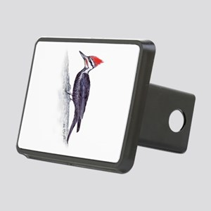 handsome pileated woodpecker Rectangular Hitch Cov