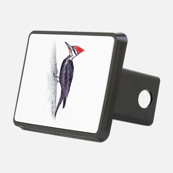 handsome pileated woodpecker Hitch Cover