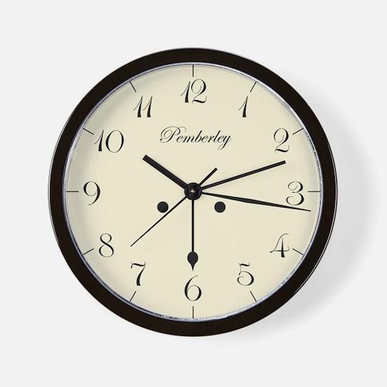 """6:17"" Wall Clock"