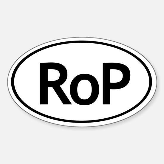 RoP Oval Autosticker