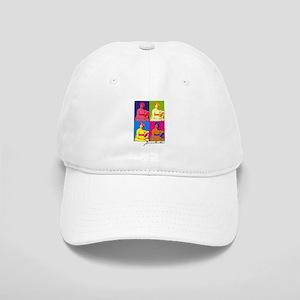 Jane Austen Pop Art Cap