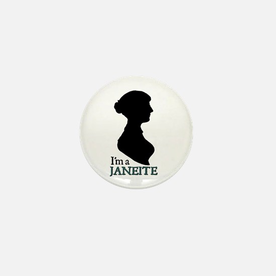 Jane Austen Janeite 1 Mini Button