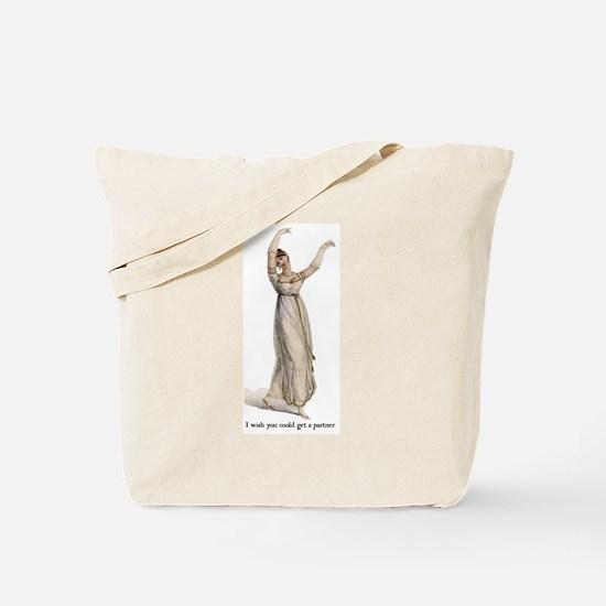 Dancing Lady Tote Bag