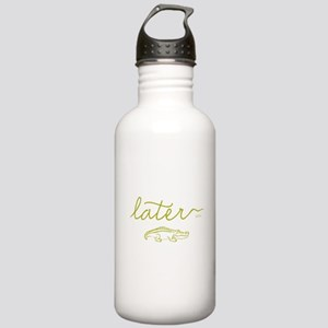 Later Alligator Stainless Water Bottle 1.0L