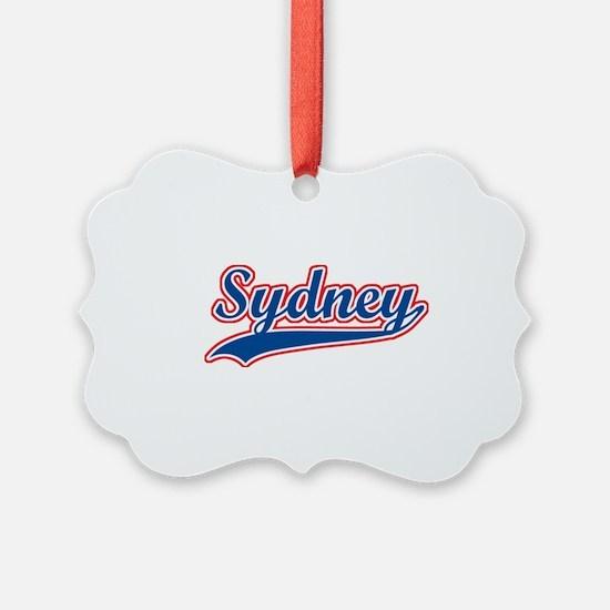 Retro Sydney Ornament