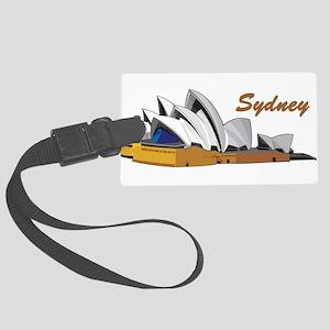 Sydney Opera House Large Luggage Tag