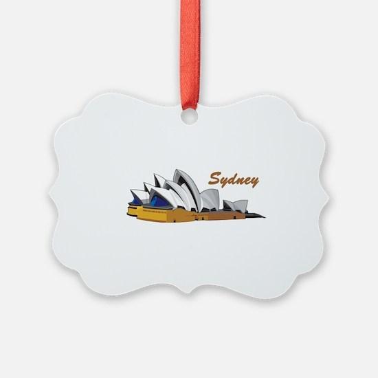 Sydney Opera House Ornament