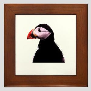 Puffin Framed Tile