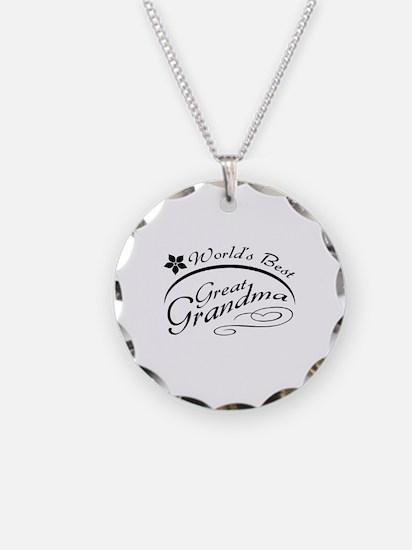 World's Best Great Grandma Necklace