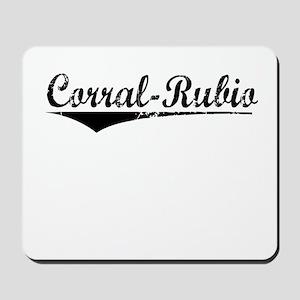 Corral-Rubio, Aged, Mousepad