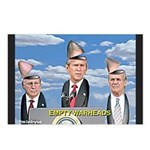 Bush/Cheney Parody Postcards (Package of 8)