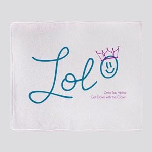 ZTA LOL Throw Blanket