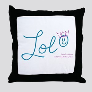 ZTA LOL Throw Pillow