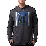 FIN-scaredy-cat Mens Hooded Shirt