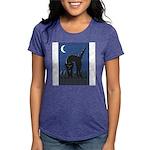 FIN-scaredy-cat Womens Tri-blend T-Shirt