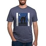 FIN-scaredy-cat Mens Tri-blend T-Shirt