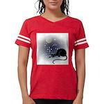 FIN-cat-moon-stars-1 Womens Football Shirt