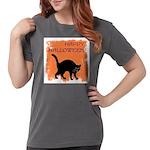 happy-halloween Womens Comfort Colors Shirt