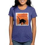 happy-halloween Womens Tri-blend T-Shirt