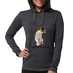 FIN-calico-cat-good Womens Hooded Shirt